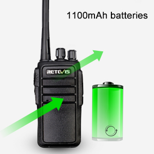 two-way radios with long life battery