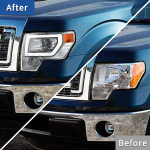 f150 front lights