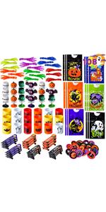 JOYIN 12 Piezas Juguetes de Cuerda Surtida de Halloween para Rellenar Las Bolsas