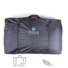 Portable bassinet, travel bassinet, portable crib carry bag for travel crib
