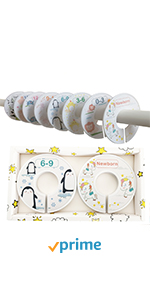 baby closet size dividers