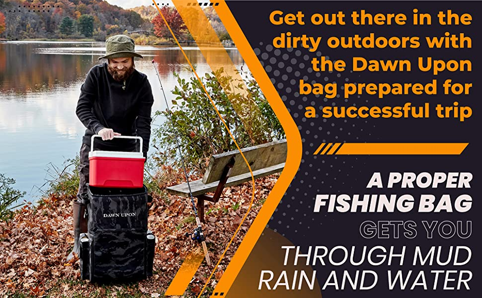 fishing tackle bag fishing box fishing rod case tackle backpack hiking bag fishing tackle backpack