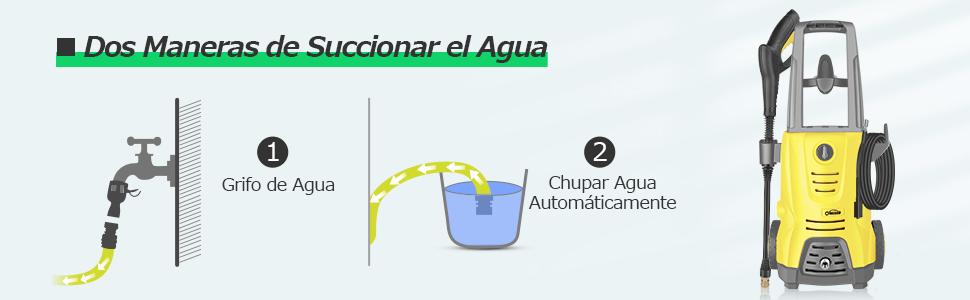 oasser Hidrolimpiadora de Alta Presión Eléctrica Limpiadora Alta ...