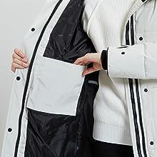 puffer coat long