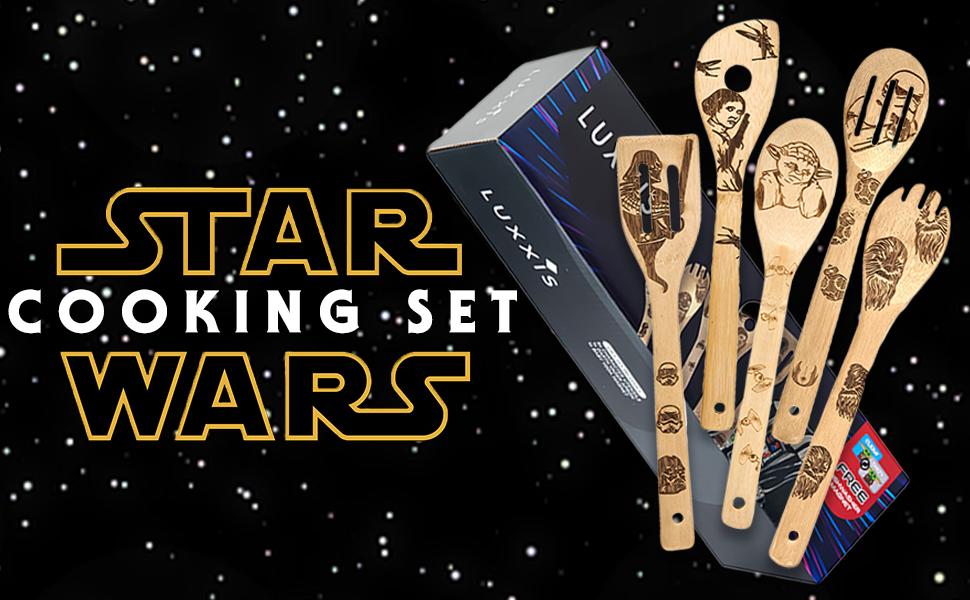 Star Wars Organic Cooking Spoons Set
