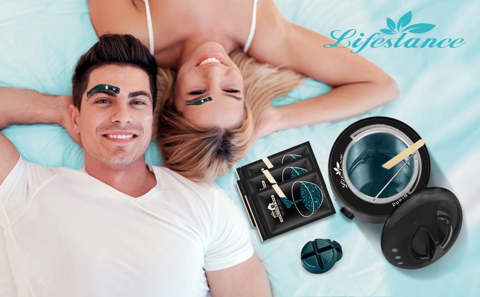 wax warmer hair removal waxing kit