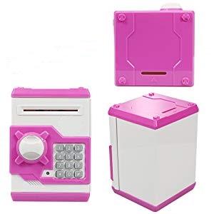 piggy bank for kids money safe for kids money safe for adults atm piggy bank atm