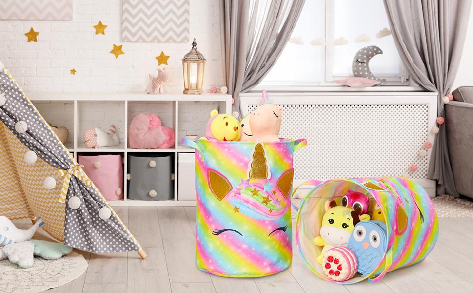 Unicorn Laundry Basket