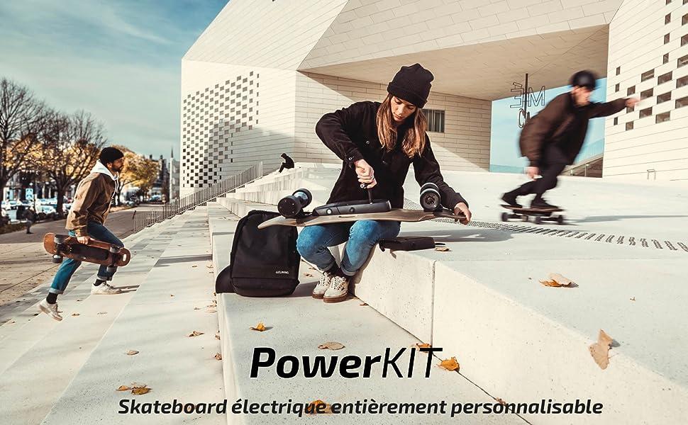 Elwing Halokee Nimbus Powerkit skateboard longboard electrique