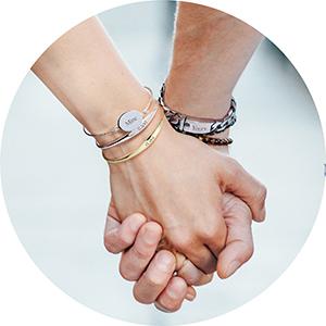 En Alternant 12 Mois De Naissance Les Couleurs Zircone Cubique CZ Bague /Éternit/é Empilables Pour Femme Argent