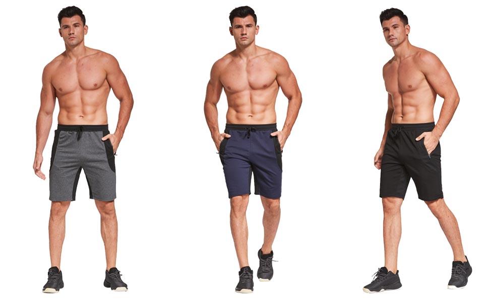 Casual shorts model display