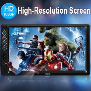 High-Resolution Screen