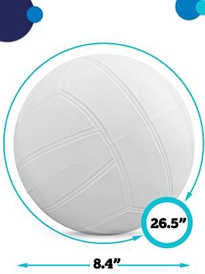 regulation size volleyball