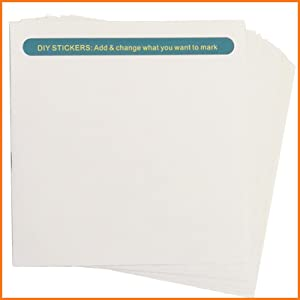 Baby Closet Size Dividers STICKERS