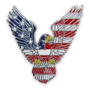 american bald eagle and us flag pin usa military veteran patriotic army navy air force marines