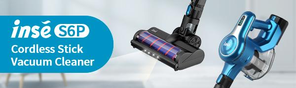 INSE Cordless Vacuum S6P