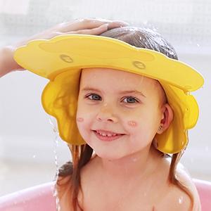Kids Shower Cap Shampoo Eye Shield