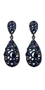 Art Deco Clip-on Earrings