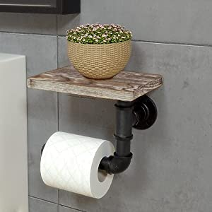 toilet paper wall holder