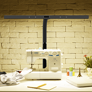 Sewing machine scene