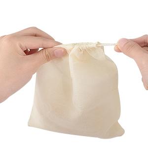 15 /× 20CM Irich 30 Piezas Bolsas de Muselina Reutilizable Bolsas de Algod/ón con Cord/ón Bolsa de Filtro para Almacenar Hierbas Especias Artesan/ías