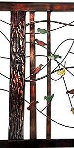 Branches w/Birds Decorative Metal Wall Decor Sculpture Kitchen Home Indoor