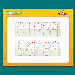 Improve your child's math skills in single-digit problems