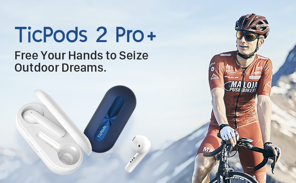 ticpods 2 pro bluetooth earbuds
