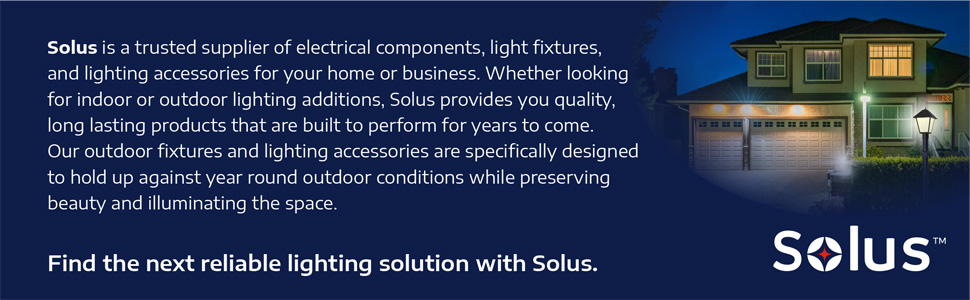 solus solo lights pc-08-kit automatic dusk to dawn photocell wwitch incandescent fluorescent LED