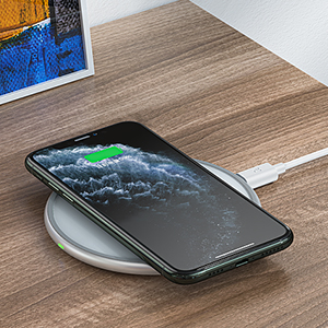 Compatible with All Wireless Charging Cell Phones