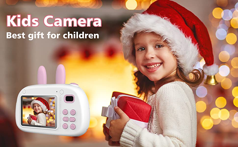 Kids Digital Cameras - Best birthday, Christmas Gift for Kids boys and girls aged 3~12.
