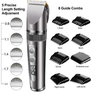 Hair clipper set kit for men