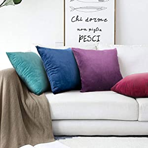 throw pillow covers 20x20 pillow cases decorative 18x18 velvet pillow cases decorative
