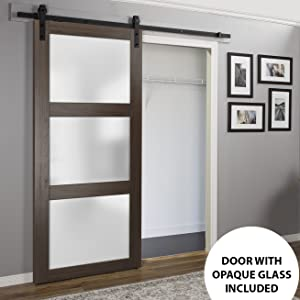 white solid wood door closet
