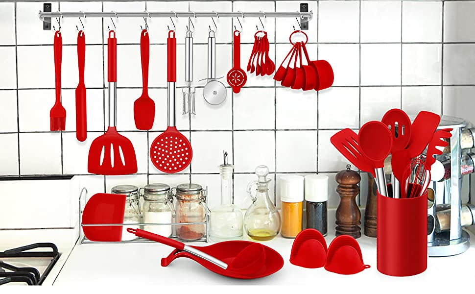 silicone cooking utensilis