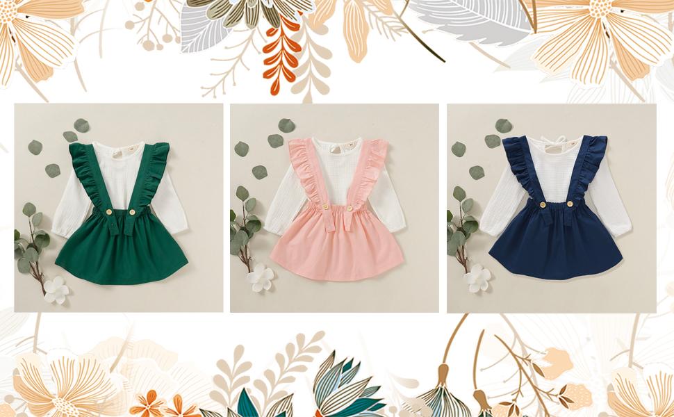 baby girl autumn skirt set