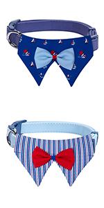 Bon Voyage Bowtie Collar