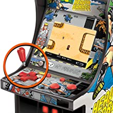 My Arcade Micro Player Mini Arcade Machine: Heavy Barrel Video Game, Fully Playable, 6.75 Inch Collectible, Color Display, Speaker, Volume Buttons, ...