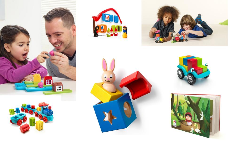 preschool games, smartgames, family games, brain games, smart games