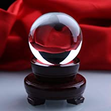 crystal ball fengshui paperweight