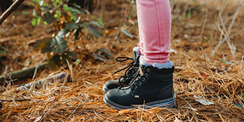 outdoor boys girls winter boots