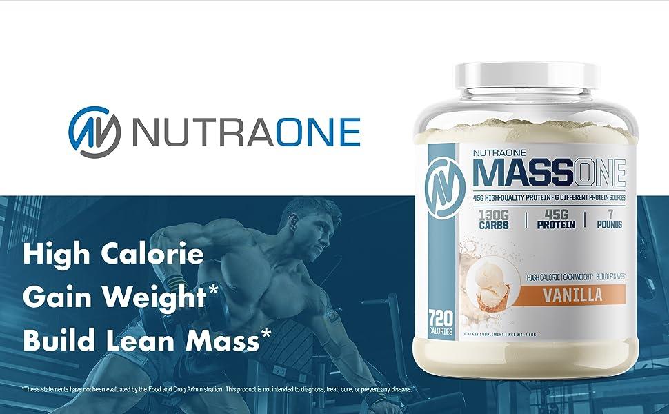 High Calorie Gain Weight Build Lean Mass