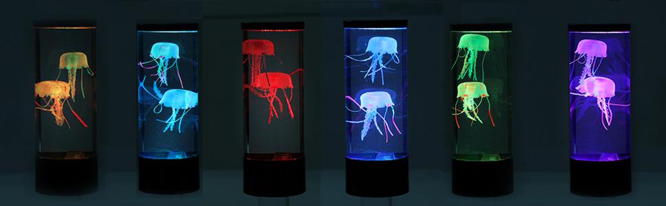 jellyfish tank lamp