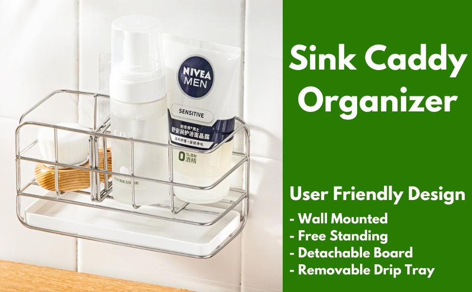 Steel Sink Storage Holder