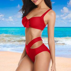 bowknot bikini top