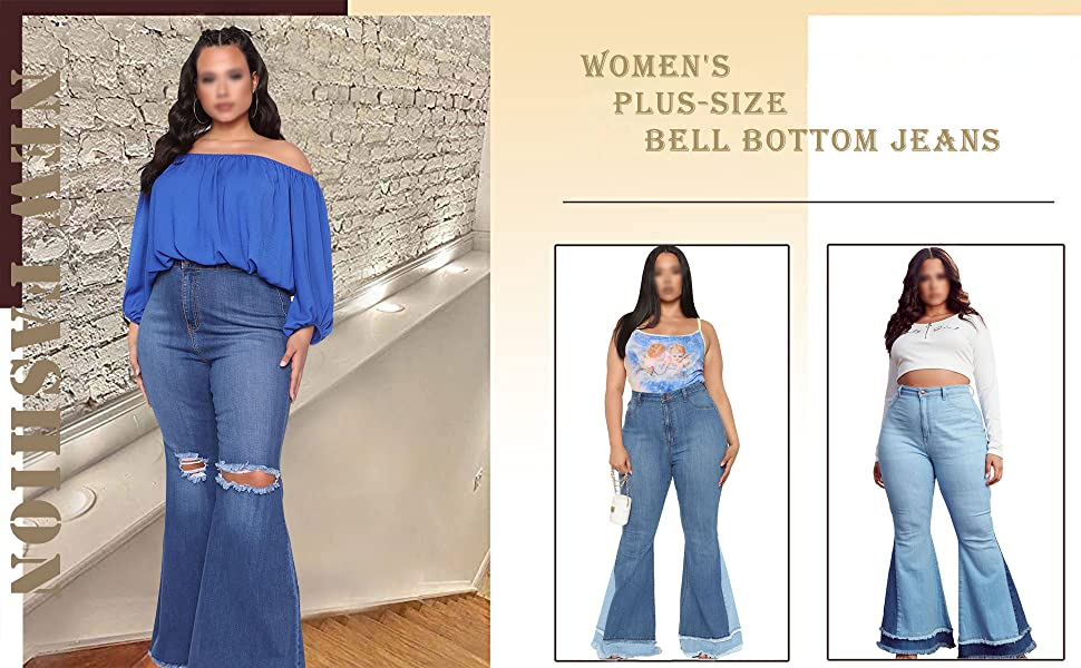Plus-Size  Jeans for Women