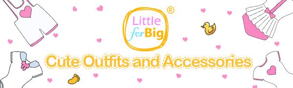 BigBig Style Lot de 3 tenues pour b/éb/é fille Barboteuse /à rayures avec chapeau