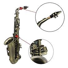 Acabado antiguo Bend Eb E-flat Saxofón alto