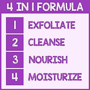 pureSCRUBS 4 in 1 Formula Lavender Body Scrub