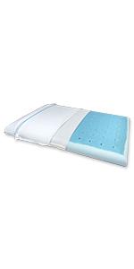 Ultra slim max cool full pillow